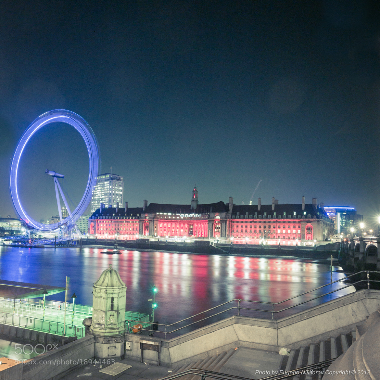 Photograph London Eye by Eugene Nikiforov on 500px
