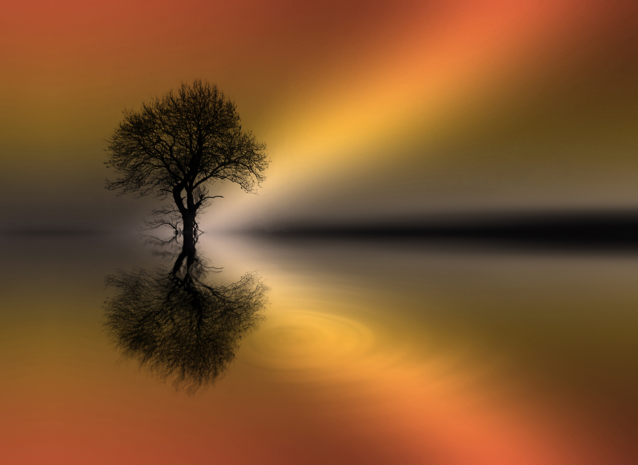 Photograph THE ZEN POOL (golden hour) by KENNY BARKER on 500px
