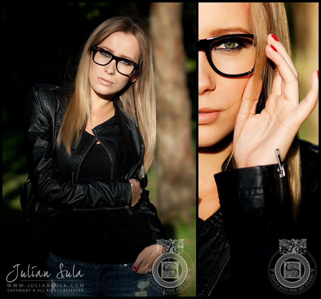 Photograph Model wearing glasses by Julian Sula on 500px