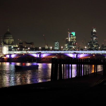 Blackfriars Bridge y catedral St Paul 2