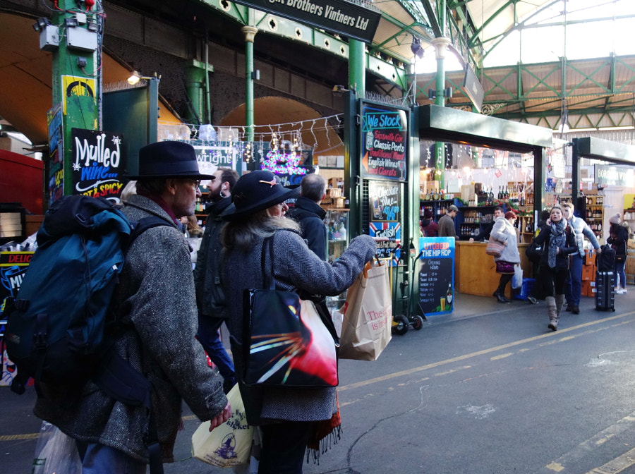 Bourough Market at Christmas, London by Sandra on 500px.com
