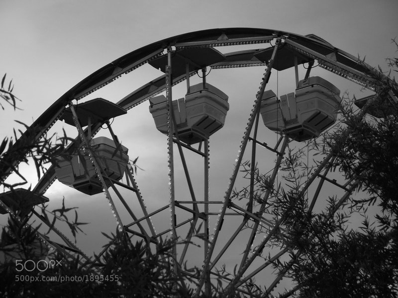 Photograph Lonely Ferris Wheel by Brian Matthews on 500px