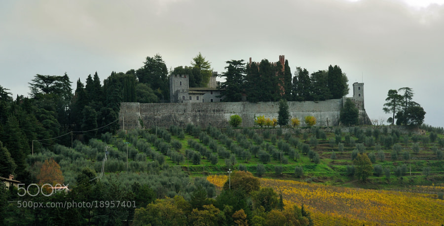 Autumn Time: Castello di Brolio...