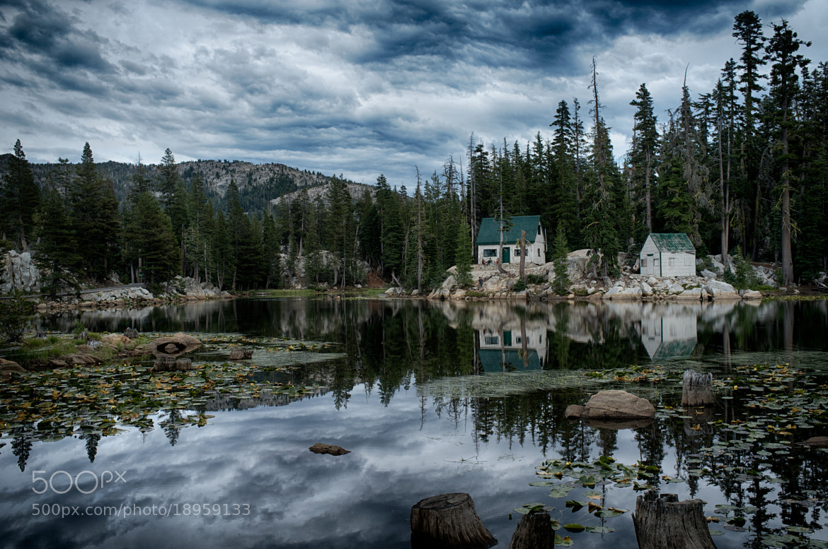 Photograph Cabin in the Sierra Nevadas by Chris Thompson on 500px