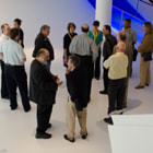 Thanking our wonderful tour guides! SMPTE NYC Section meeting and tour of the Museum of the Moving Image.