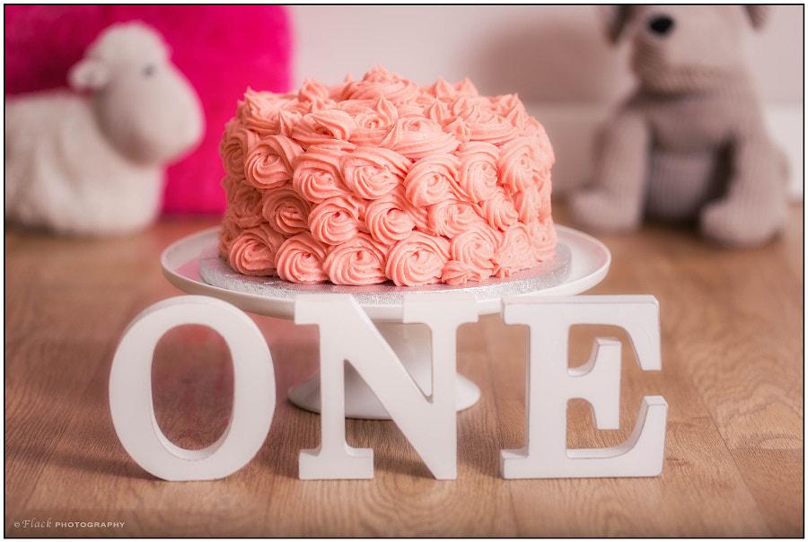 1st birthday cake smash. de Debbie Roach en 500px.com