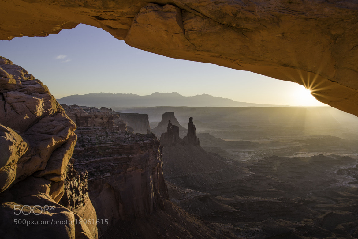 Photograph Mesa Arch by billinbend on 500px