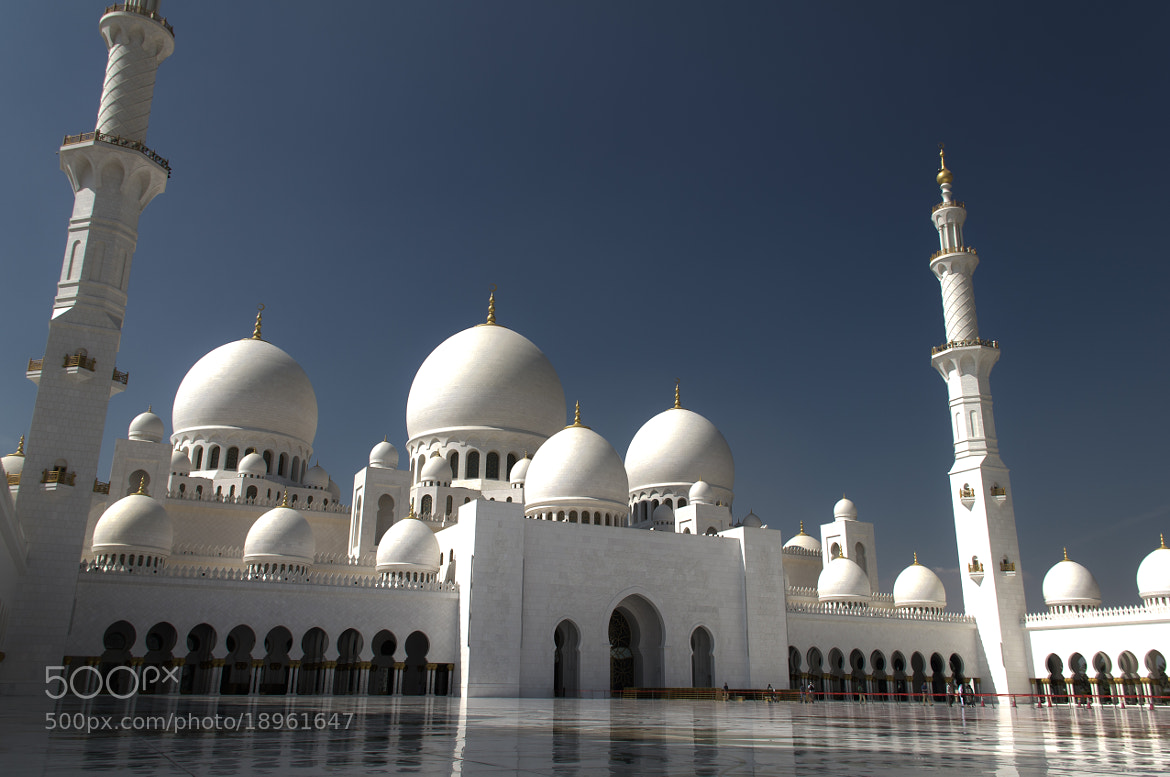 Photograph Sheikh Zayed Mosque by Jinesh Udani on 500px