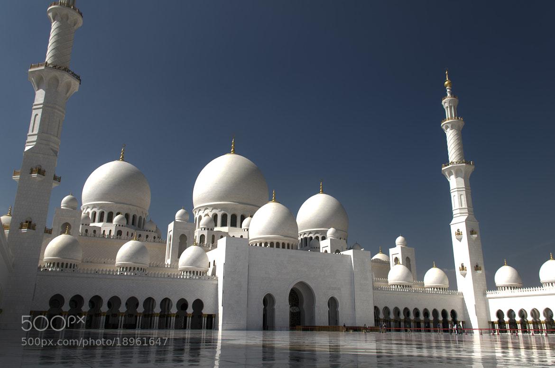 Photograph Sheikh Zayed Mosque by Jinesh Udani on 500px