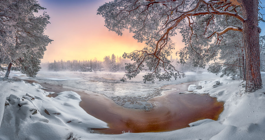 December sunset by Mikko Leinonen on 500px.com