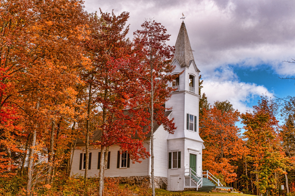 Photograph The Country Church by Lyn Scott on 500px