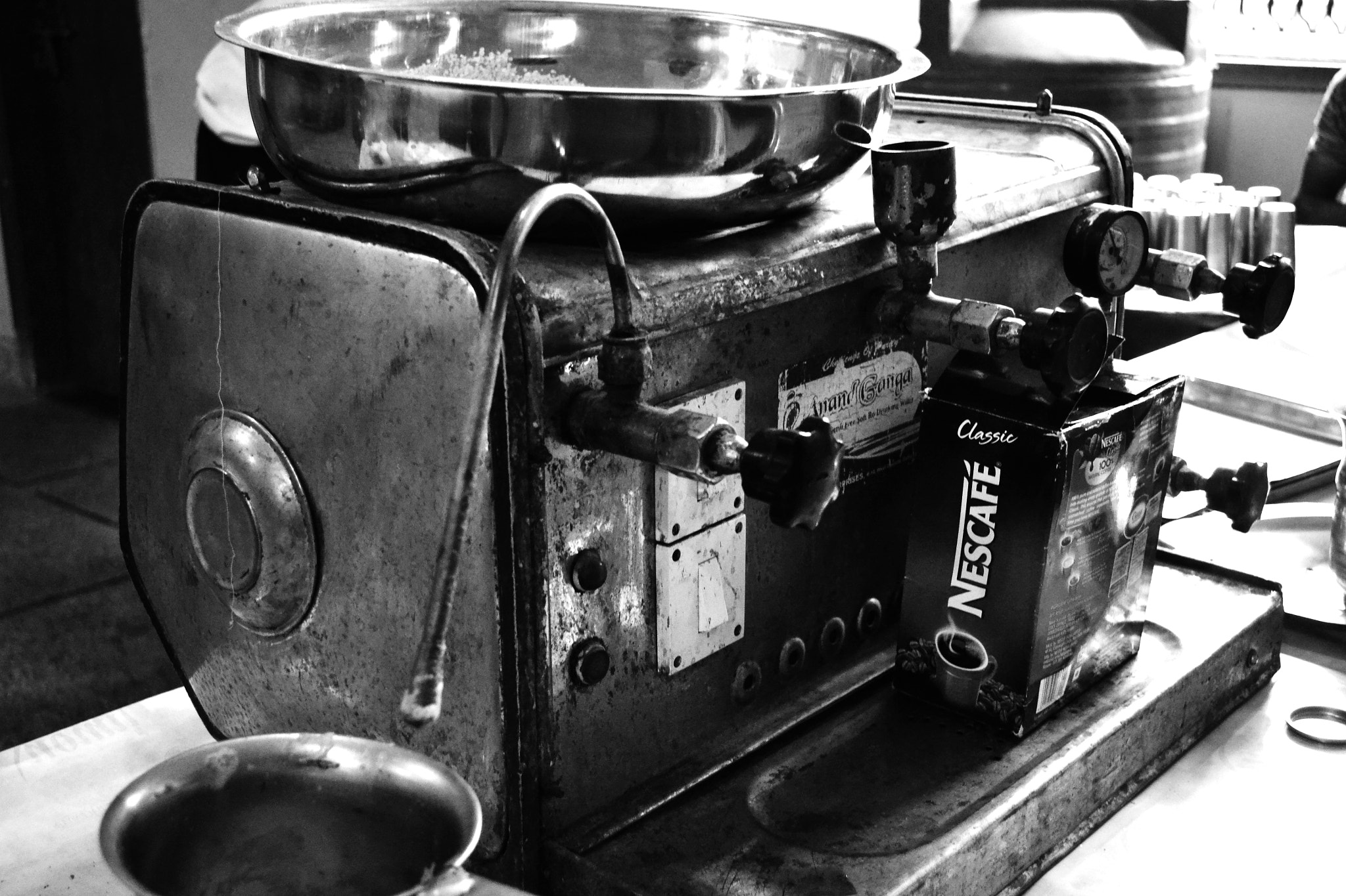 Photograph The Coffee machine!! by Abhishek Tyagi on 500px