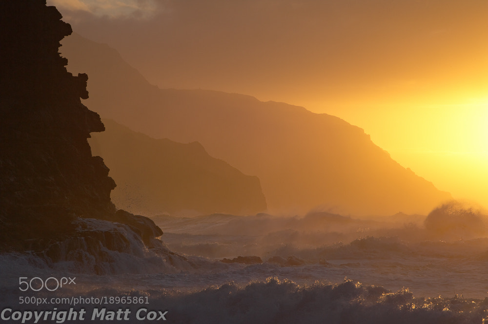 Photograph Ke'e Beach Sunset by Matt Cox on 500px