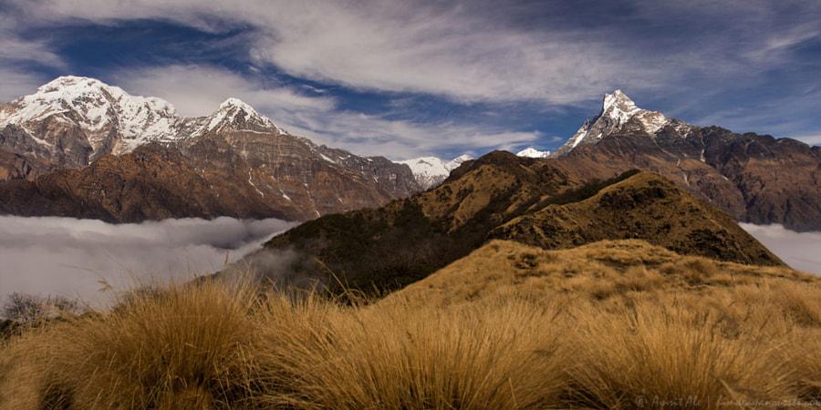 Mardi Himal Trek by Keshab Dhamala on 500px.com
