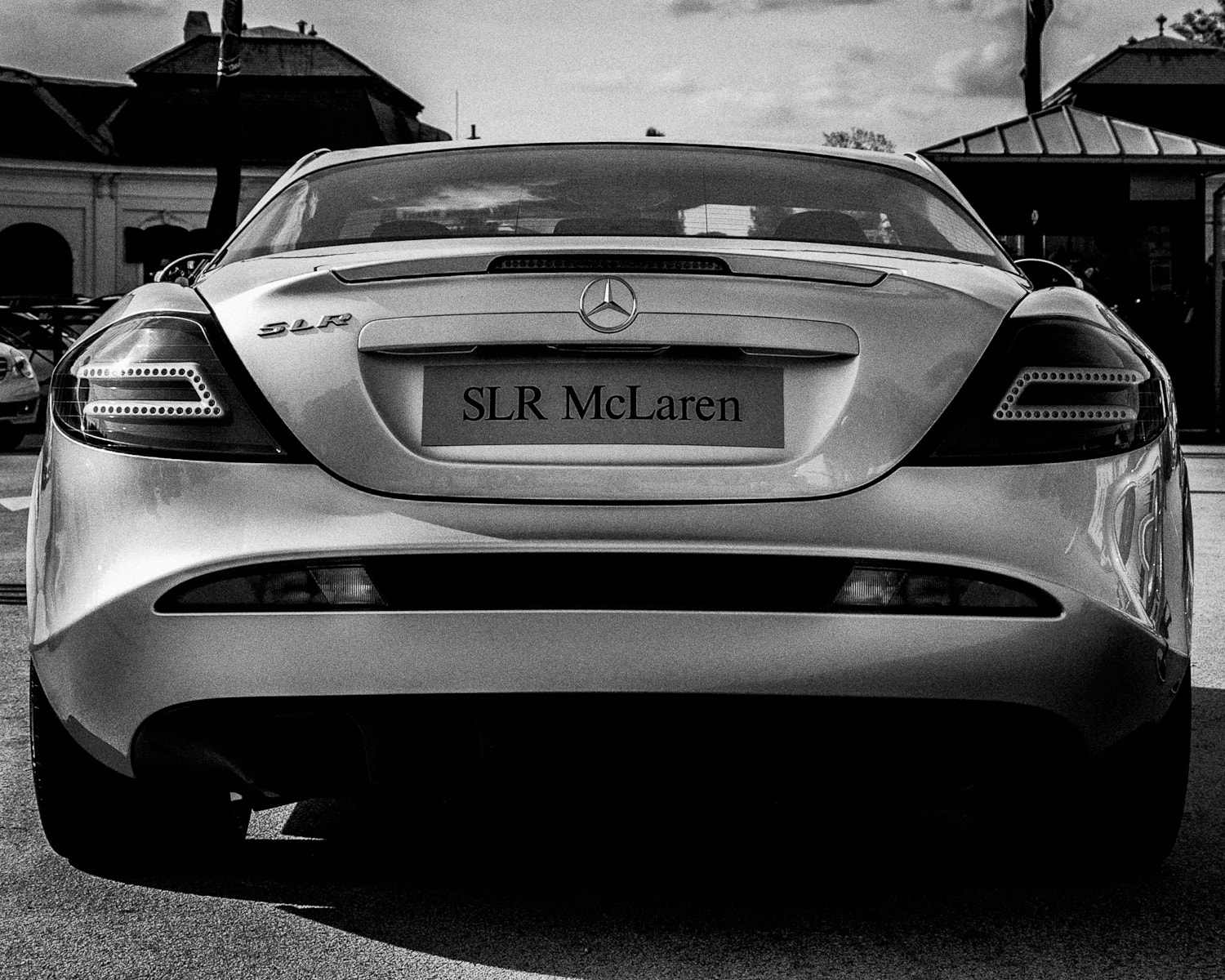 Photograph Mercedes-Benz SLR McLaren by Ernst Gamauf on 500px