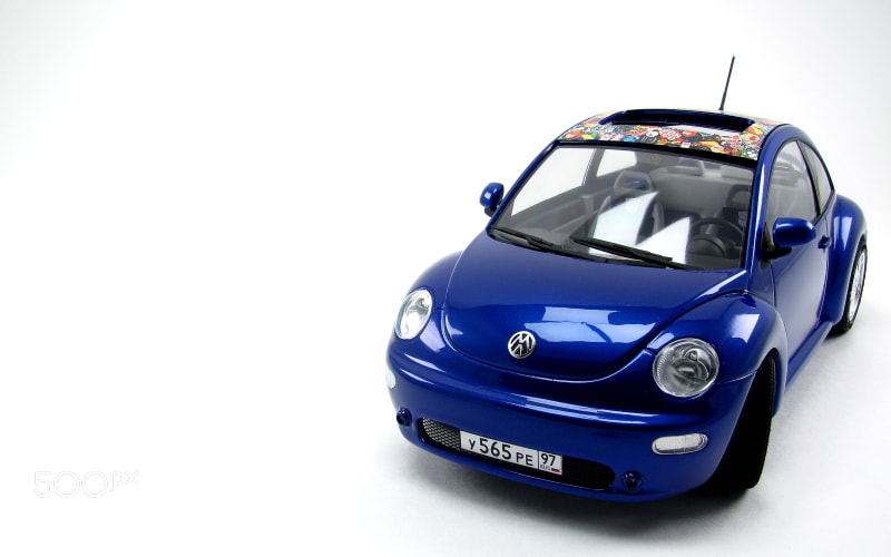 Volkswagen New Beetle  scale: 1/24 Tamiya/vmmodels