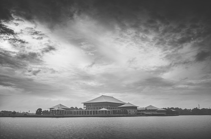 Sri Lankan Parliament, Kotte by Son of the Morning Light on 500px.com