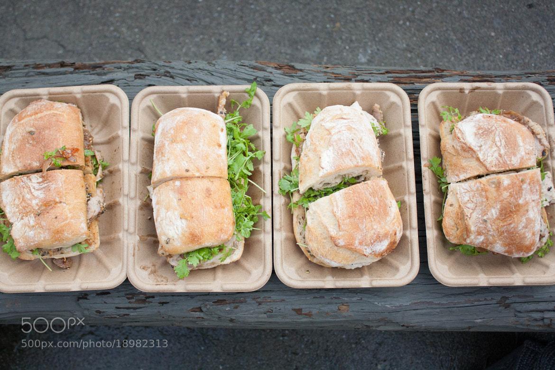 Photograph Porchetta Sandwiches by Stephanie Hua on 500px