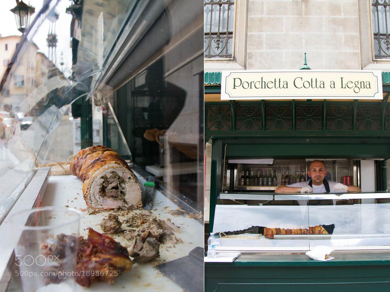 Photograph Porchetta Cotta a Legna by Stephanie Hua on 500px