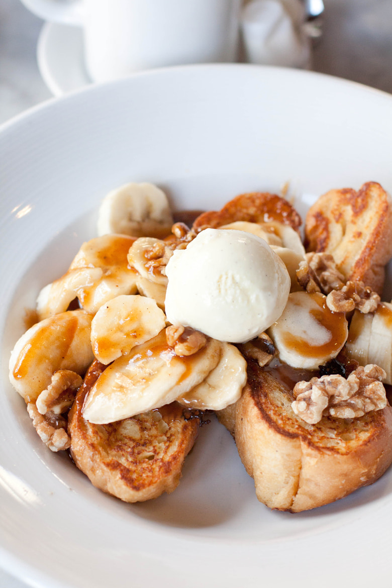 Photograph Bananas Foster French Toast by Stephanie Hua on 500px