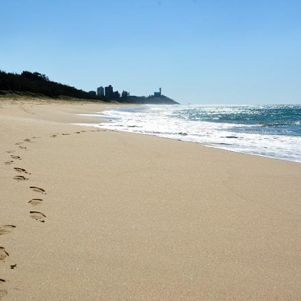 Kawana beach, Mooloolaba, Australia.