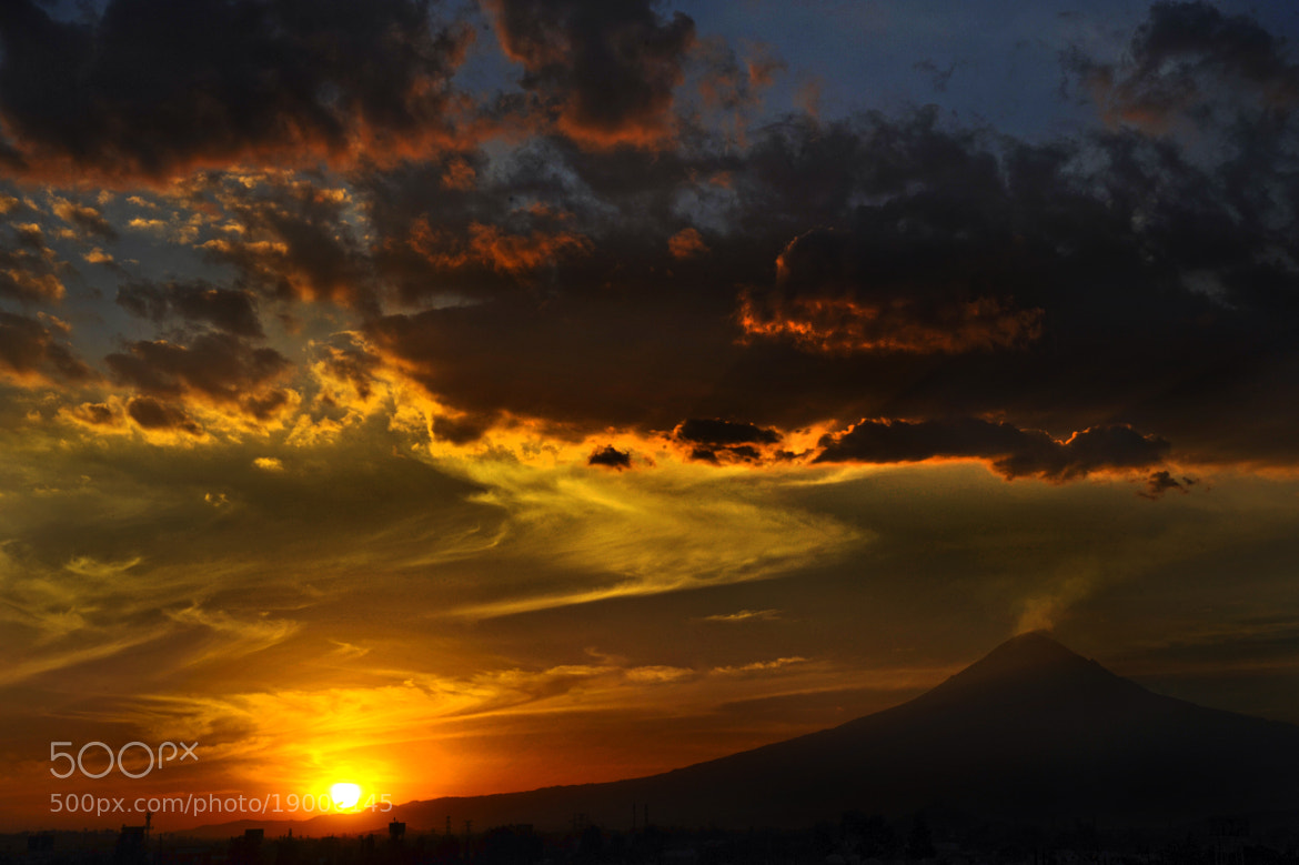 Photograph Volccano and sunset by Cristobal Garciaferro Rubio on 500px
