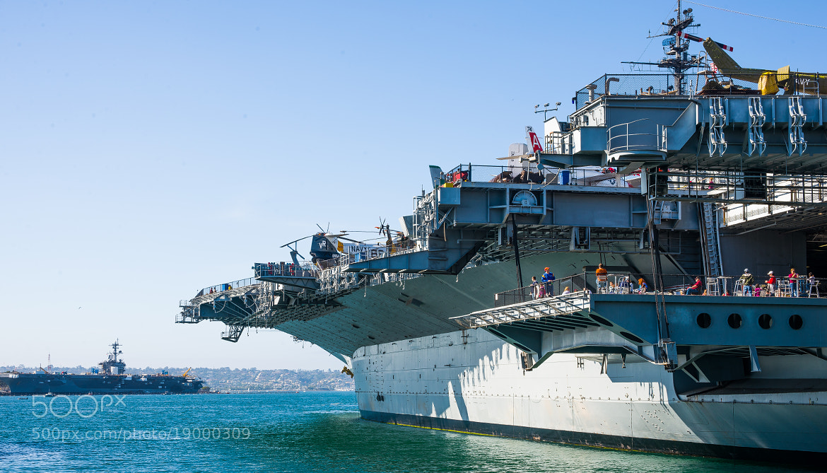 Photograph USS Midway by Jaganath Achari on 500px