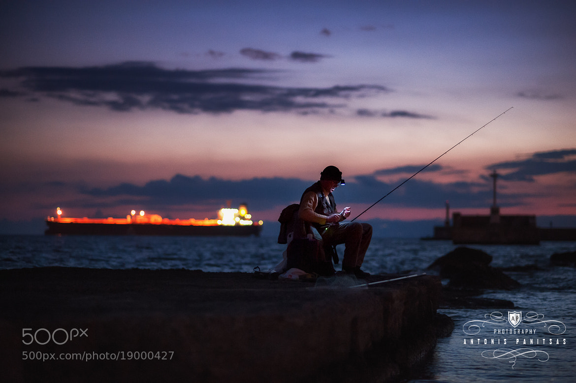 Photograph Fisherman blues by Antonis Panitsas on 500px