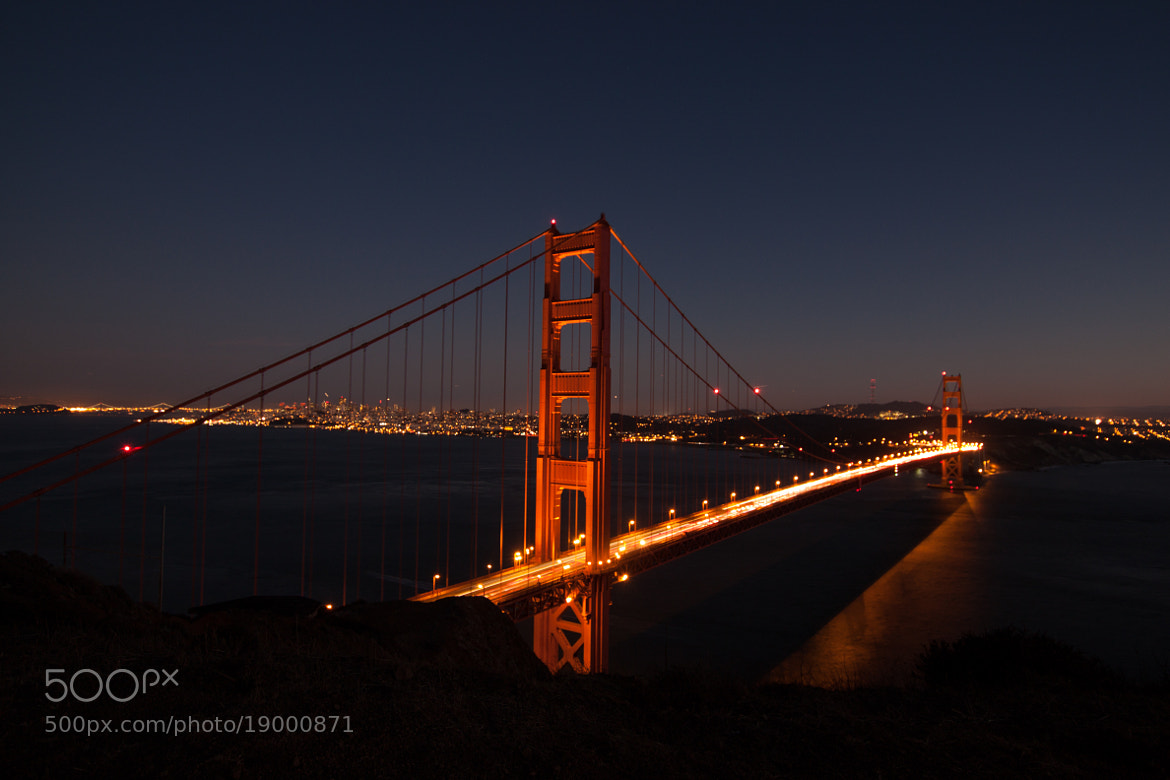 Photograph Golden Gate Bridge by Maria Neumayer on 500px