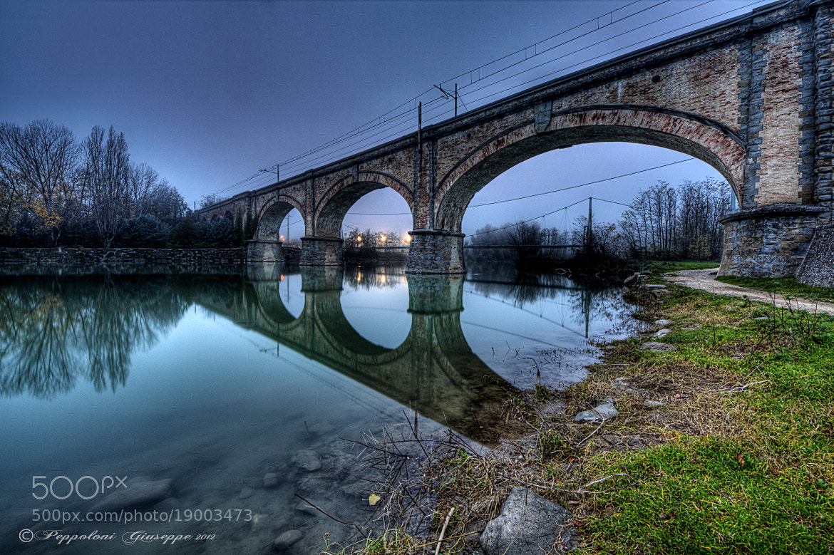 Photograph The bridge over the river by Giuseppe  Peppoloni on 500px