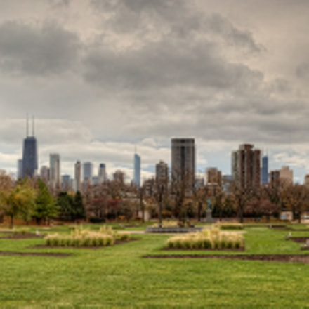 Lincoln Park from the Lincoln Park Conservatory