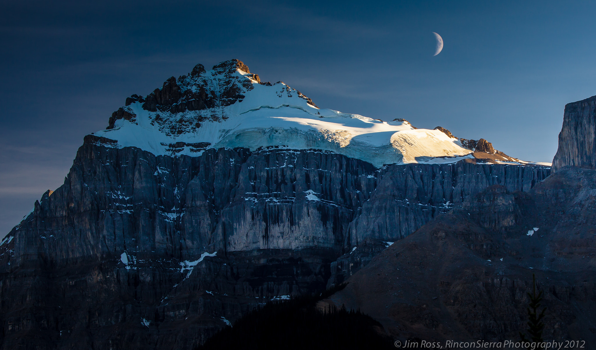 Photograph Moonrise Over Icefields Parkway!!! (Part I, Day 1) by Jim Ross on 500px
