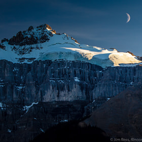 Moonrise Over Icefields Parkway!!! (Part I, Day 1) by Jim Ross (RinconSierra)) on 500px.com