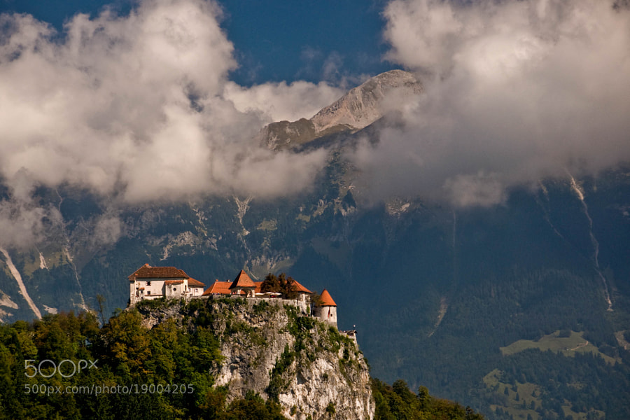 Photograph castle - Bled (03) by Vlado Ferencic on 500px
