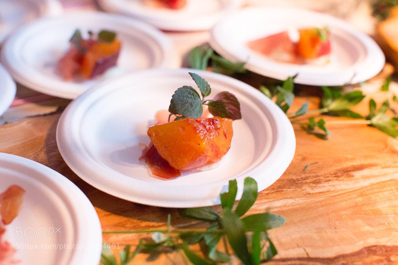 Photograph Peaches and Burrata by Stephanie Hua on 500px