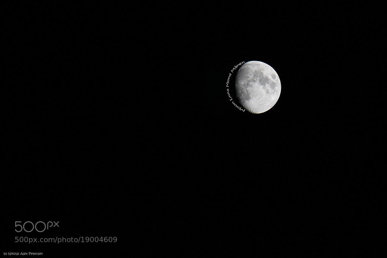 Photograph The Moon by Nikolai Alex Petersen on 500px