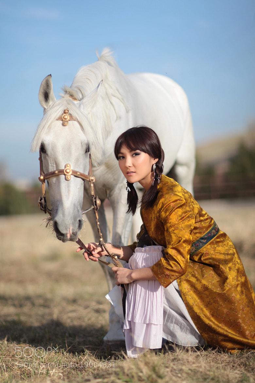 Photograph Kyrgyz Beauty by Dinara Ratsko on 500px
