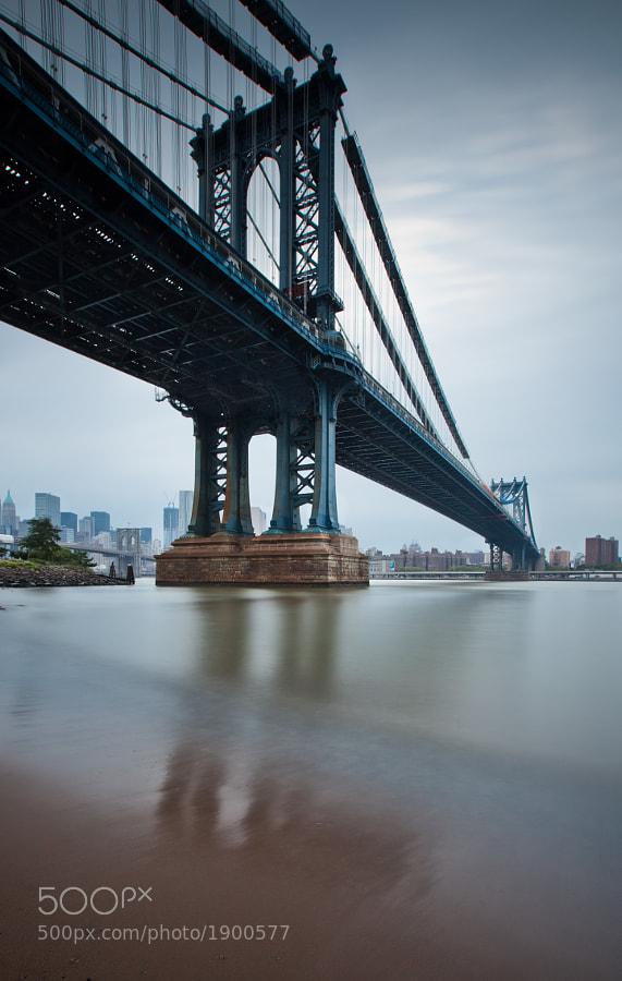 Manhattan Bridge</p>  <p>New York City