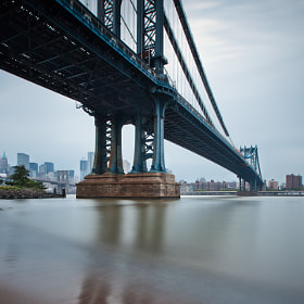 Manhattan Bridge by Rich Williams (RichWilliams)) on 500px.com