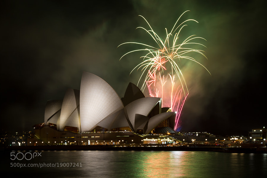 Firework at Opera House by Hans Fischer (hansfischer)) on 500px.com