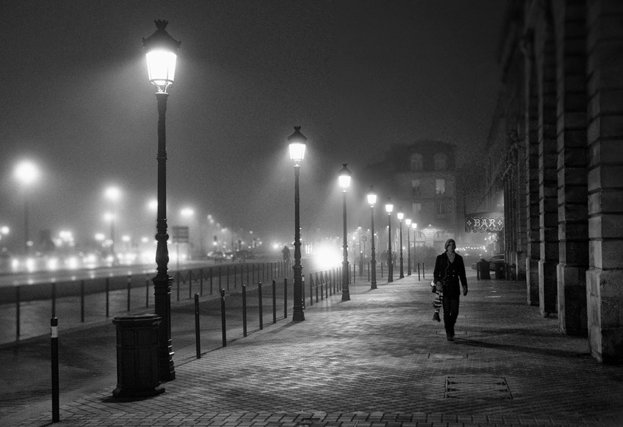Photograph A walk in the night #10 by Magali K. on 500px