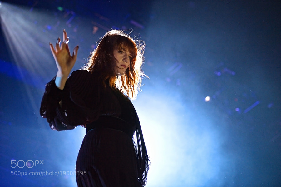 Photograph Florence And he Machine  by Luuk Denekamp on 500px