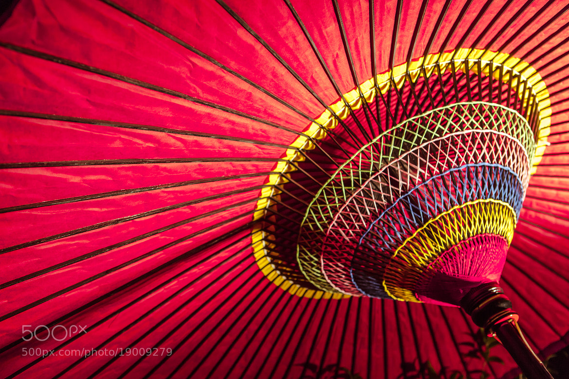 Photograph Red Umbella by Structuresxx  on 500px