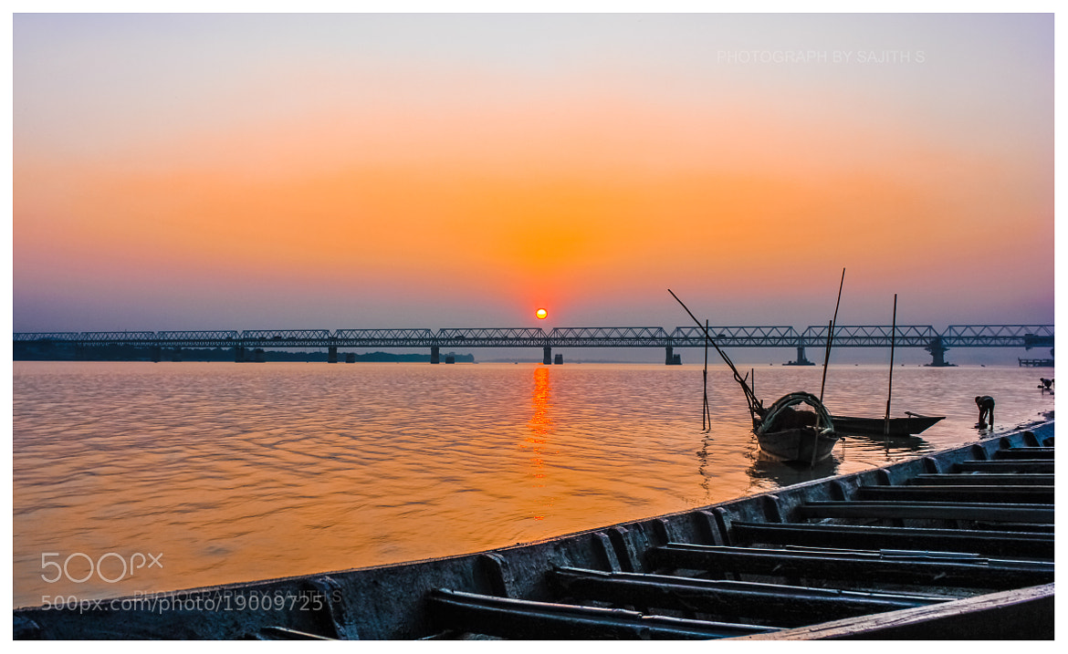 Photograph Bridge at Sunset by Sajith S on 500px