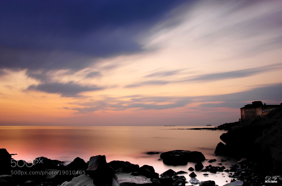 Photograph Sunset to Civitavecchia by Daniele Forestiere on 500px