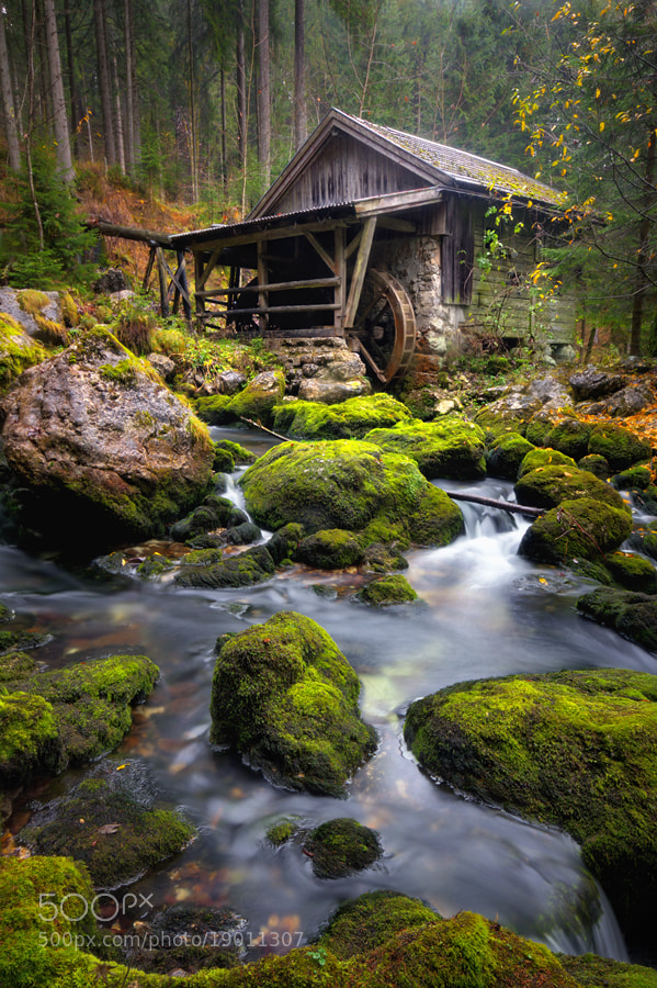 Photograph Old water mill by Kai Süselbeck on 500px