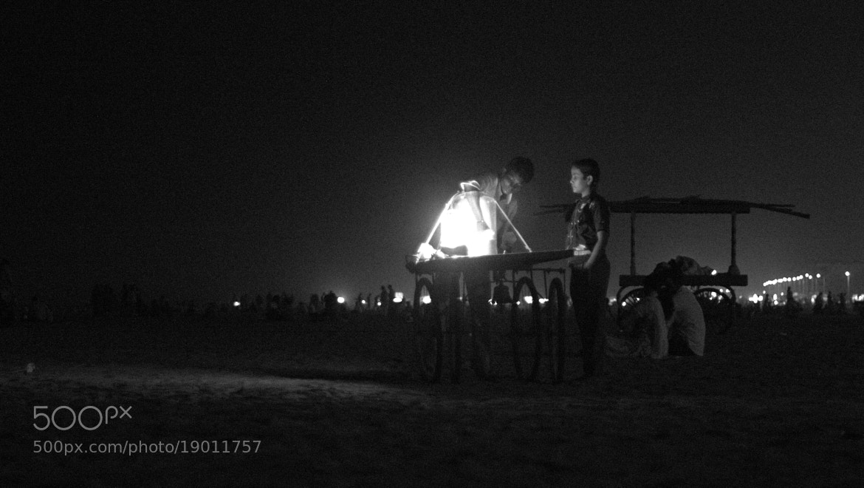 Photograph Night shopping by Prabhu Chandian on 500px