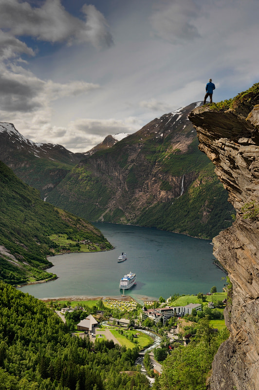 Photograph View of Geirangerfjord... by Pawel Kucharski on 500px