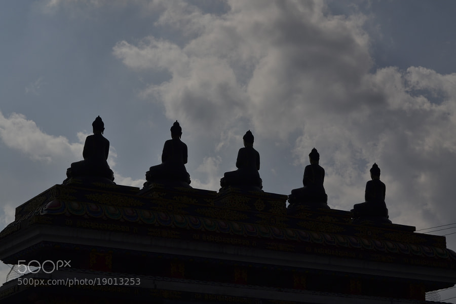 Photograph Five Buddhas by Shakya Richa on 500px