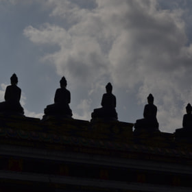 Five Buddhas by Shakya Richa (shakya-richa)) on 500px.com